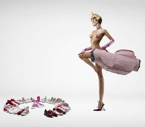 pinkflamingo and shoes