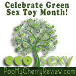 pop my cherry green sex toy month banner