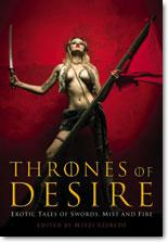 """Thrones of Desire"" Erotic Reading Book"